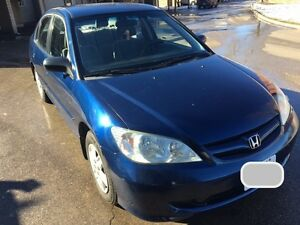 2005 Honda Civic DX Sedan CERTIFIED & E-TESTED