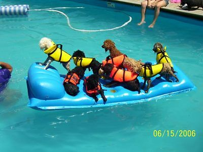 Dog Life Vest Fido Float Premier ALL SIZES Safety Jacket Pool Pet Preservers NEW