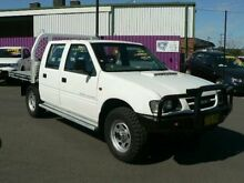 2000 Holden Rodeo TFG6 LX (4x4) White 5 Speed Manual 4x4 Crewcab Dubbo 2830 Dubbo Area Preview
