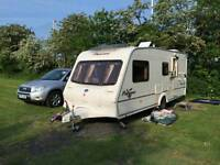 Bailey Pageant Champagne 4 Berth Touring Caravan 2003, Excellent condition