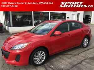 2012 Mazda3 GS-SKY! New Brakes + 4 FREE New Winter Tires! A/C!