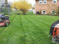 Lawn mowing and lawn-care **Rates starting at $30**