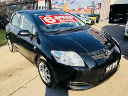 2008 Toyota Corolla ZRE152R Ascent Black 6 Speed Manual Hatchback Brooklyn Brimbank Area Preview