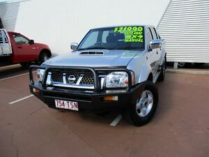 2012 Nissan Navara D22 S5 ST-R Silver 5 Speed Manual Utility Toowoomba Toowoomba City Preview