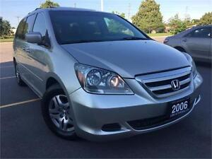 2006 Honda Odyssey EX-L , Leather, Sunroof, Certified, 148K