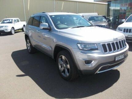 2015 Jeep Grand Cherokee WK MY15 Limited Silver 8 Speed Sports Automatic Wagon