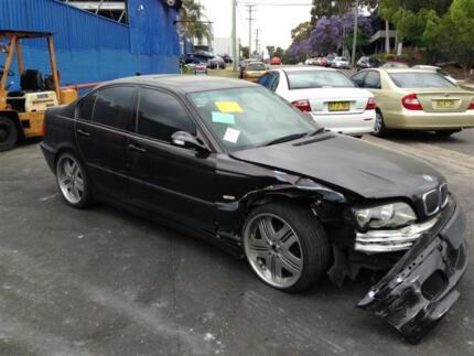BMW 318I 2001 E46 WRECKING COMPLETE CAR FOR PARTS ONLY BMW PARTS North Parramatta Parramatta Area Preview