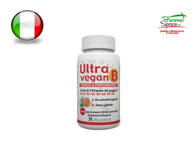 Ultra Vegan B 30 Compresse con Vitamine B1 / B2 / B3 / B5 / B6 / B8 / B9 / B12