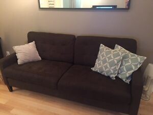 Couch | Beautiful Brown Couch