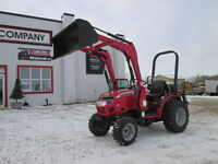 Acreage Package, 26HP Mahindra, loader & implements