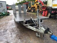 bateson 16ft tilt bed trailer for plant cars vans mowers diggers twin axle 3.5 ton