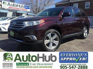 2011 Toyota Highlander V6 AWD Sport Leather Sunroof