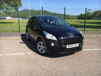 Peugeot 3008 Crossover 1.6HDi Active 2012 62 PLATE *ONLY 54,800 MILES FROM NEW*