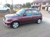 Nissan Micra 1.0 Automatic, 5 Door, Only 36,000 Miles, Reliable Japanese Small Auto, Cheap Bargain