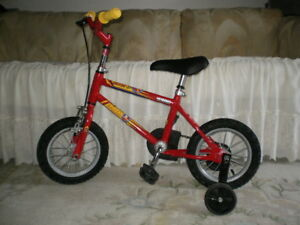 "AS NEW, HEAVY DUTY 12"" BIKE FRONT HAND BRAKE/TRAINING WHEELS"