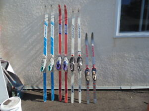X country skis & boots set. Moving, not available after Sept 30