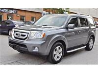 2011 Honda Pilot EX-L, LEATHER, SUNROOF, REAR VIEW CAMERA