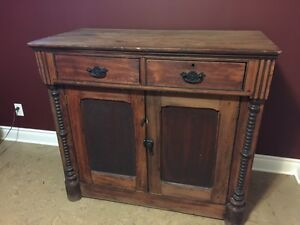 Antique Solid Wood Sideboard