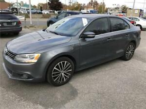 2013 Volkswagen Jetta Sedan Highline *TDI* AUTOMATIQUE MAGS CUIR