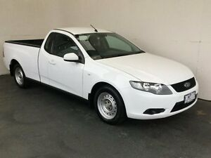 2009 Ford Falcon FG Ute Super Cab White 4 Speed Automatic Utility Mount Gambier Grant Area Preview
