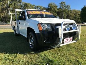 2008 Holden Colorado RC MY09 DX (4x2) White 5 Speed Manual Cab Chassis Clontarf Redcliffe Area Preview