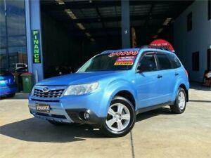 2012 Subaru Forester S3 MY12 XS AWD Premium Blue 4 Speed Sports Automatic Wagon Slacks Creek Logan Area Preview