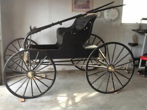 BUGGY---RESTORED, like new again--ANTIQUE BUGGY--REDUCED to $800