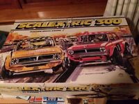Large Scalextric set consisting of three sets being sold as one lot