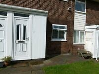 Two bedroom, first floor apartment to let with excellent views and use of a garage included.