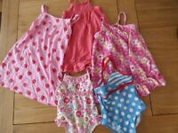 girls summer clothing age 2-3 years