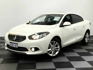 2013 Renault Fluence X38 Phase 2 Privilege White 6 Speed Constant Variable Sedan Edgewater Joondalup Area Preview