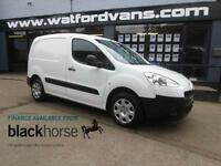2014 Peugeot Partner Professional 1.6HDi 92ps E/Pack Diesel white Manual