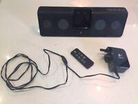 A Logictech MM50 Speaker