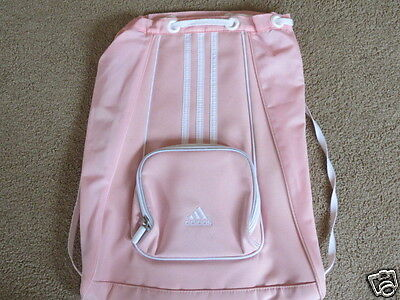 VGC Adidas pink [a little heavier than] sling backpack