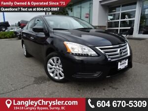 2013 Nissan Sentra 1.8 S *ACCIDENT FREE* TWO OWNER*LOCAL BC CAR*