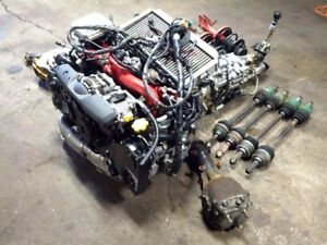 SUBARU WRX STI VERSION 8 EJ20T MOTOR MT 6 SPEED TRANSMISSION