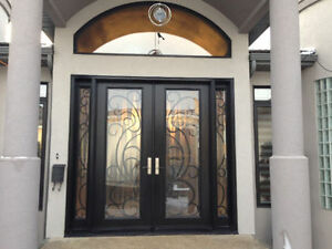 CUSTOM MANUFACTURING & INSTALLATION of ENTRY DOORS & WINDOWS