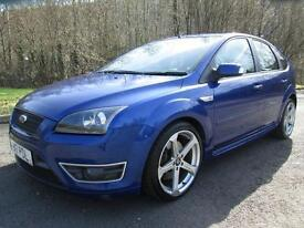 Ford Focus 07/56 Focus St-2 2.5 Hatch In Performance Blue PETROL MANUAL 2007/N