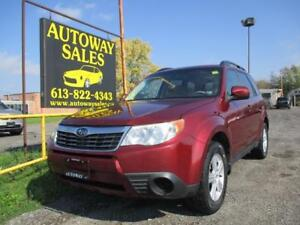 2010 Subaru Forester AWD **CERTIFIED SAFETY & WARRANTY INCLUDED*