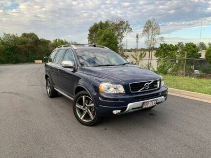 2013 Volvo XC90 P28 MY13 D5 Geartronic R-Design Blue 6 Speed Sports Automatic Wagon Darra Brisbane South West Preview