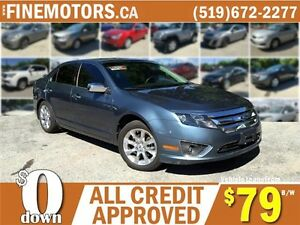 2011 FORD FUSION SEL * LEATHER * POWER ROOF * LOADED