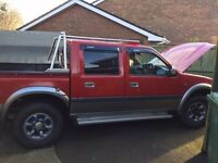 isuzu pick up, loads of new parts, part ex considered!!