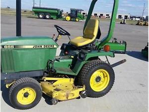 1986 John Deere 655 Compact Tractor