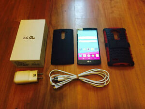 LG G4, 32 Gigs, Case, Usb, Rogers - Fido - Chat-r BUY TODAY