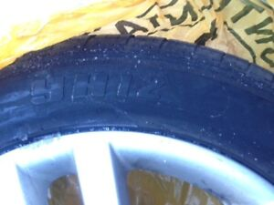 4 tires on rims   Jinyu Tires YH12 205/55R16 on Mag VW Golf rims