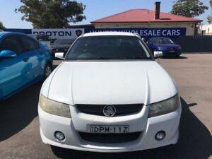 2005 Holden Ute VZ S White Manual Utility