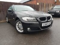 BMW 3 SERIES 2.0 318I ES TOURING 5DR AUTOMATIC (black) 2010