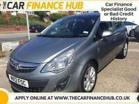 BAD CREDIT, NEED A CAR ?....PAY AS YOU GO FINANCE....VAUXHALL CORSA CDTI .....rep APR 14.5%