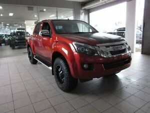 2016 Isuzu D-MAX LS-U Venetian Red Automatic Dual Cab Thornleigh Hornsby Area Preview