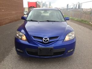2008 MAZDA 3/ACCIDENT FREE/CERITIFIED/ONE OWNER
